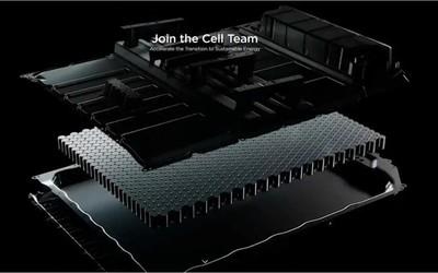 特斯拉对4680电池进行大批量测试 预计明年年投入使用