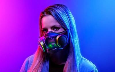 雷蛇全新RGB智能口罩正式发布 外观设计有点拉风