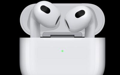 单次续航6小时 苹果AirPods 3今日开卖 售价1399元