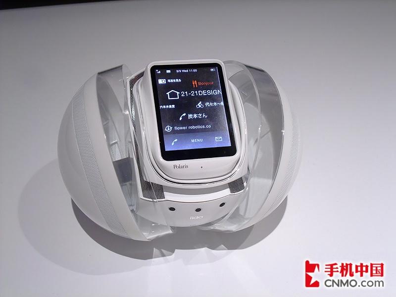 保姆机器人手机 Polaris概念机高清图赏