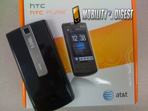 WM6.5双雄齐发 HTC Pure/Tilt2官方发布 - 开心就好 - 我是大海中波浪上的一个浪花