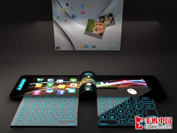 华丽炫目投影 索尼腕表概念手机美图赏