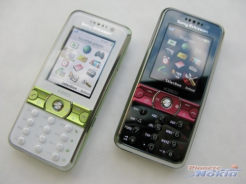 索尼爱立信新款手机K660i-低端直板新品 索尼爱立信K660真机图赏