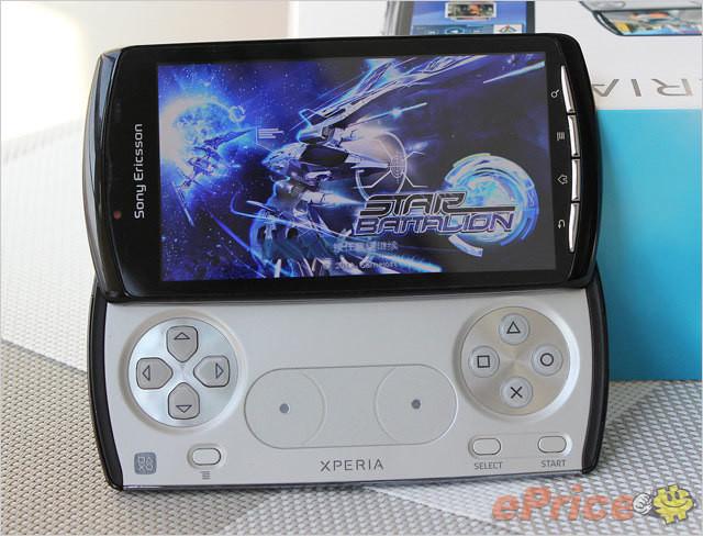 游戏手机 索尼爱立信Xperia Play图赏
