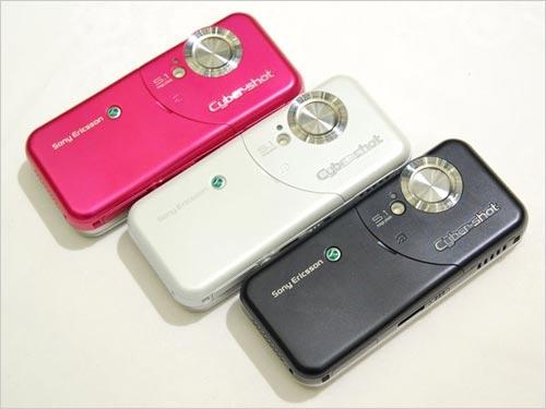 索尼爱立信最新款Cyber-shot拍照手机W61S-索尼爱立信W61S 500万3