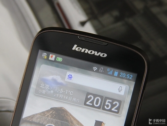 千元双核IPS大屏 联想乐Phone A586评测
