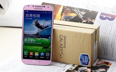 国内独家首发!粉色Galaxy S4开箱体验